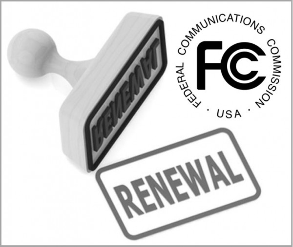 FCC Renewal Stamp