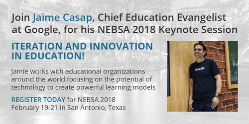 Jaime Casap to Keynote 2018 Conference